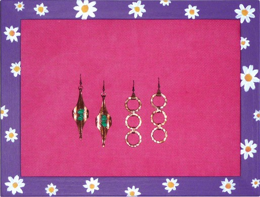 Porta orecchini da parete creare 123 - Creare porta orecchini ...